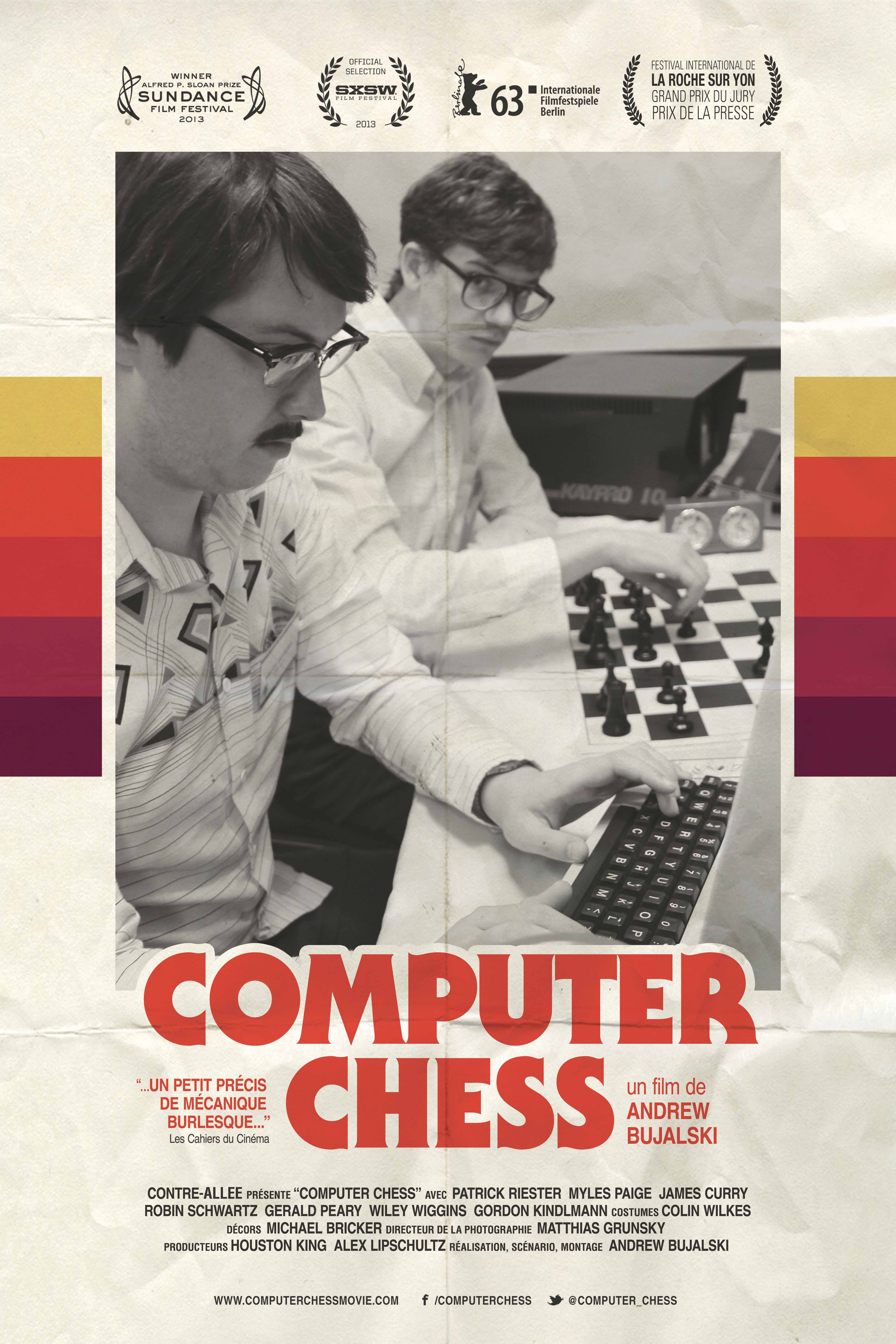 Affiche Computer Chess logos haut
